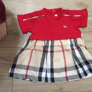 Burberry preowned dress 6 months